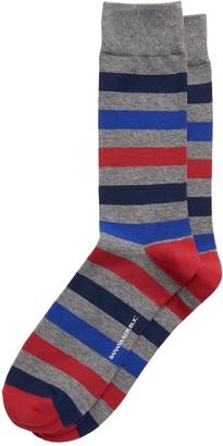 Banana Republic Multi Rugby Stripe Sock