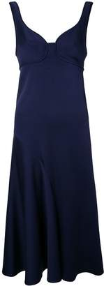 Victoria Beckham flared dress