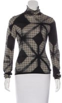 Etro Intarsia Turtleneck Sweater