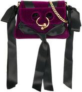 J.W.Anderson Pierce velvet crossbody bag