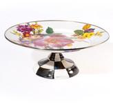 Mackenzie Childs MacKenzie-Childs Small Flower Market Pedestal Platter