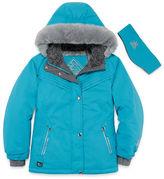 ZeroXposur Snowboard Girls Heavyweight Ski Jacket-Big Kid