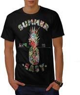 Easy Life Pineapple Summer Joy Men XXXL T-shirt   Wellcoda