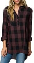 O'Neill Women's Stellar Longline Flannel Top