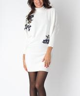 Yuka Paris Ivory Rosa Dress