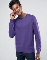 Polo Ralph Lauren Cotton Crew Neck Jumper In Purple