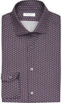 Boglioli Diamond-print Cotton Shirt