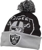 New Era NFL Oakland Raiders Knitted Bobble Hat Black