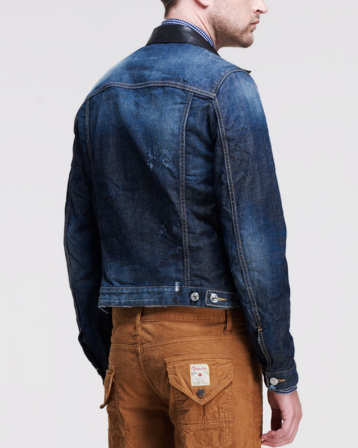 DSquared DSquared2 Rookie Washed Jean Jacket