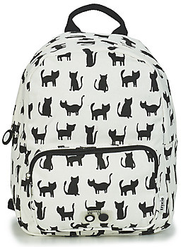 TRIXIE CATS girls's Backpack in White