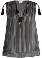 Etoile Isabel Marant Judith striped cotton top