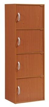 Hodedah 4-Door Cabinet, Multiple Colors