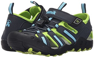 Kamik Crab (Toddler/Little Kid/Big Kid) (Blue) Boy's Shoes