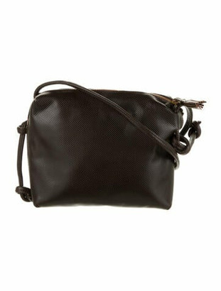 Bottega Veneta Vintage Crossbody Bag Brown