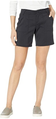 Prana Olivia Shorts - 7 (Black) Women's Shorts