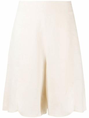 L'Autre Chose Draped Knee-Length Shorts