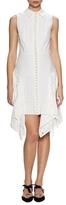 Proenza Schouler Cotton Collared A-line Dress