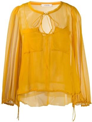 Schumacher Dorothee patch pocket blouse