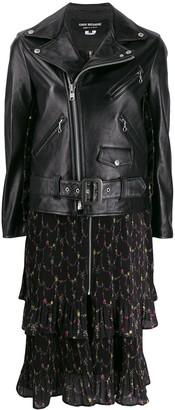 Junya Watanabe Zipped Biker Jacket