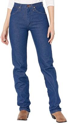 Wrangler Cowboy Cut Slim Fit Natural Waist Jean (Prewashed Indigo) Women's Jeans