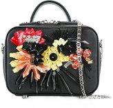 La Perla flower appliqué shoulder bag - women - Leather/Polyvinyl Acetate (PVA) - One Size