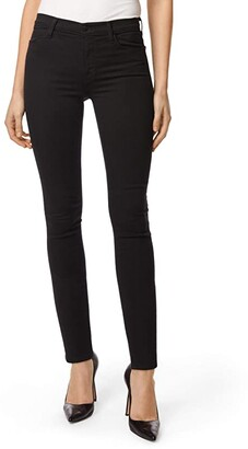 J Brand Maria High-Rise Skinny in Eco Seriously Black (Eco Seriously Black) Women's Jeans