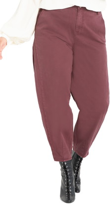 ELOQUII Colored Slouchy Jeans