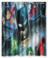 "ScottShop Custom Best Lego Batman Superheroes Shower Curtain Decoration Waterproof Polyester Fabric Bathroom Shower Curtains 60 ""x 72"" Inch"