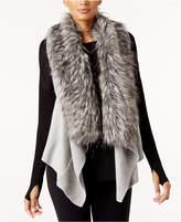 MICHAEL Michael Kors Faux-Fur-Collar Vest