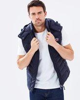 Superdry Fuji Double Zip Hooded Vest