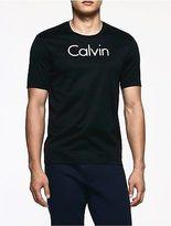 Calvin Klein Mens Platinum Embossed Logo T-Shirt