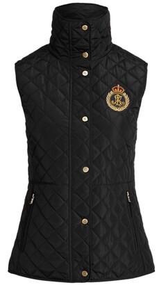Lauren Ralph Lauren Ralph Lauren Bullion-Crest Quilted Vest