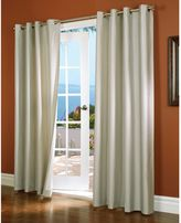Commonwealth Home Fashions Horizon Insulated Blackout Grommet Top Window Curtain Panel