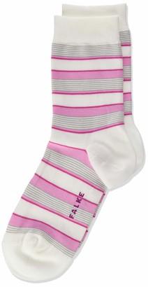 Falke Girl's Mixed Stripe Calf Socks