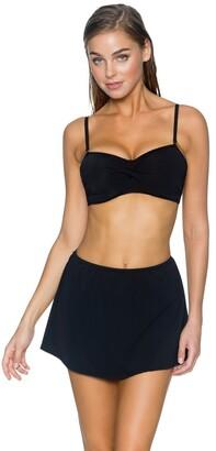 Sunsets Women's Iconic Twist Bra Sized Bandeau Tankini Top Swimsuit
