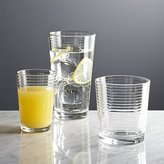 Crate & Barrel Rings Glasses