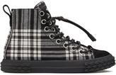 Giuseppe Zanotti Blabber tartan high-top sneakers