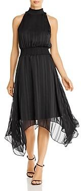 Sam Edelman Striped Handkerchief Midi Dress