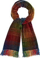 Barneys New York MEN'S OMBRÉ CHENILLE SCARF