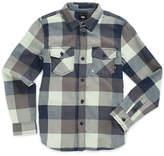 Boys Box Flannel Shirt