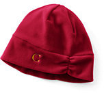 Classic Women's 100 Fleece Hat-Light Rich Red