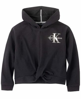 Calvin Klein Women's Girls' Pullover Hoodie Hooded Sweatshirt