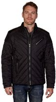 X-Ray Men's XRAY Quilted Moto Jacket