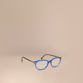 Burberry Two-tone Cat-eye Optical Frames