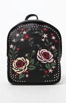 La Hearts Floral Stud Backpack