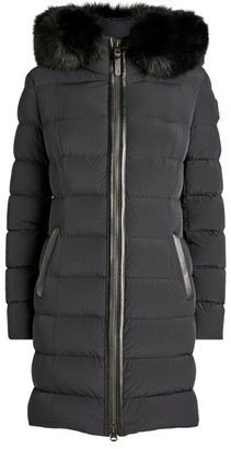 Mackage Calla Fur-Trim Hooded Puffer Jacket