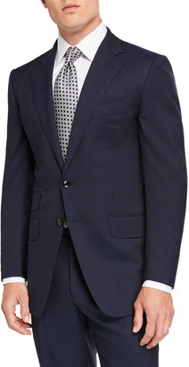 Tom Ford Men's O'Connor Pinpoint Melange Two-Piece Suit