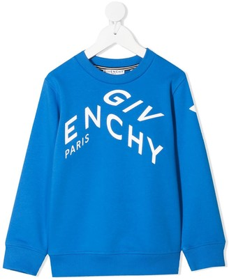 Givenchy Bul Jersey Hoodie With Contrasting Logo Print
