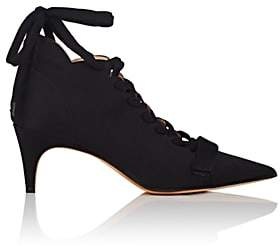 Derek Lam Women's Montparnasse Satin Ankle Booties - Black