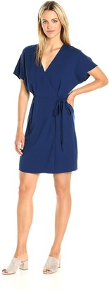 Paris Sunday Women's Kimono Sleeve Wrap Dress